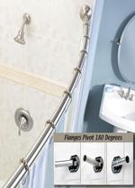 Adjustable Curved Shower Rod