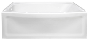 Contour Bathtub front spec sheet shot