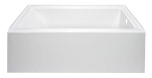 Linear Bathtub Front view Spec Sheet shot